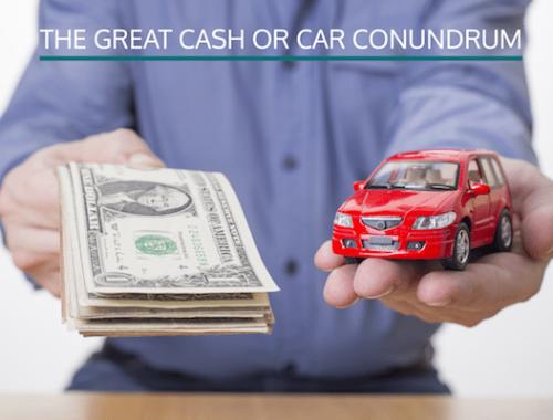 cash or company car
